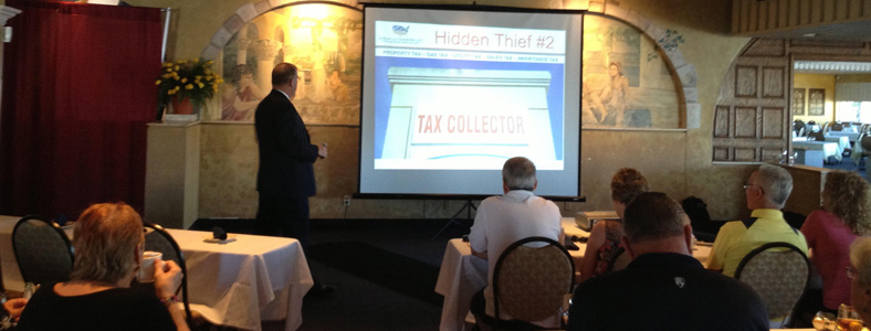 Tax Collection Image - Leverage Your Retirement